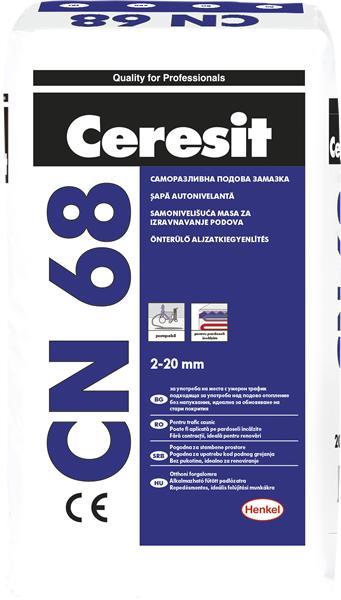 CN68,саморазл.замазка,25кг