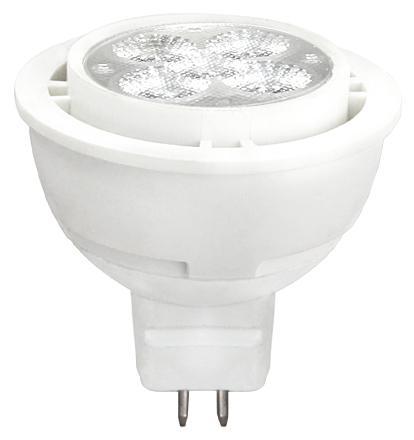 LED крушка 5.5W 230V GU5.3 MR16 4000K SMD Plastic