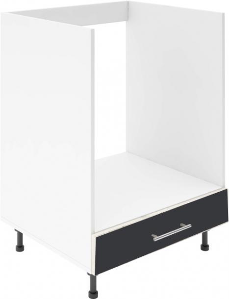 Крафт D8 долен шкаф за фурна 60см, венге