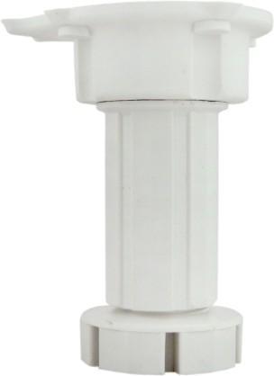 Крак мебелен кухненски 100/150мм. бял