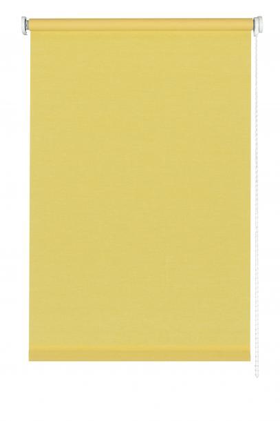 Текстилна щора роло 114х150 см жълто