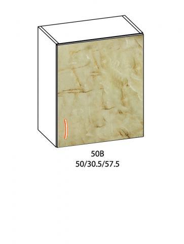 Горен шкаф  с една врата Алина 50см