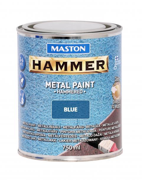 Боя с хамът ефект Maston 3в1 0.75л, синя