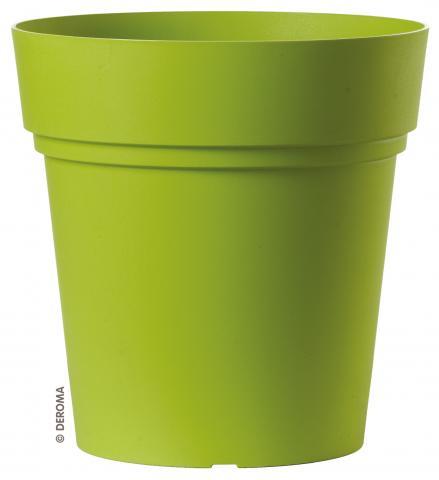 Саксия Самба кръгла ф22 см, зелена
