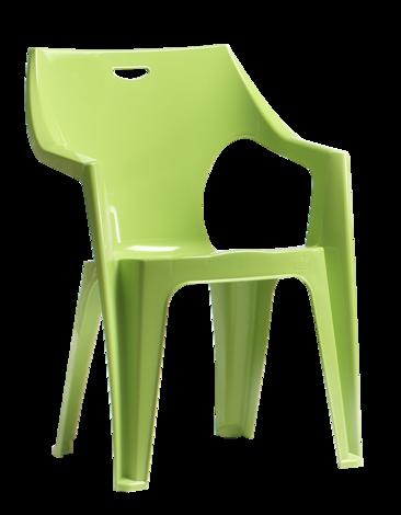 Стол Крета зелен