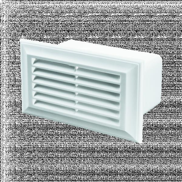 Решетка за PVC въздуховод  60*204