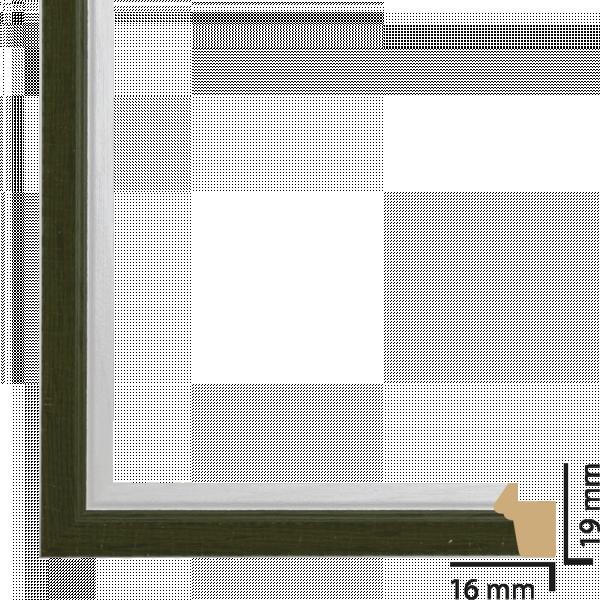 Рамка ПВЦ 10/15 см зелено