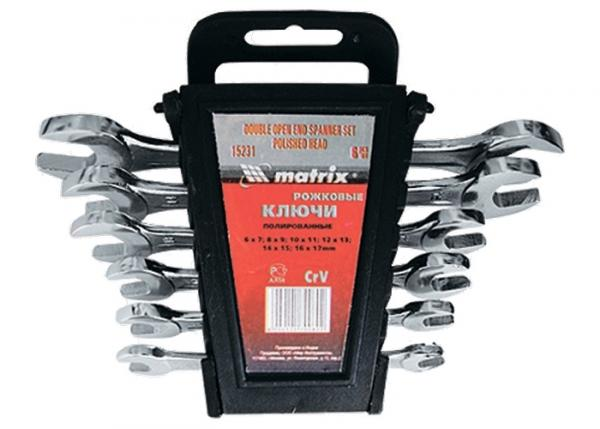 Комплект ключове гаечни- 8бр.хром  MTX