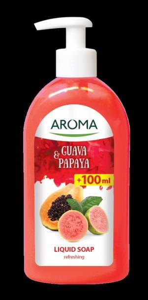 Течен сапун Aroma Guava&Papaya  500мл