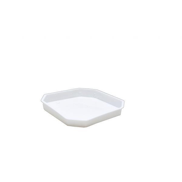 Подложка Дрина 20х20см бяла