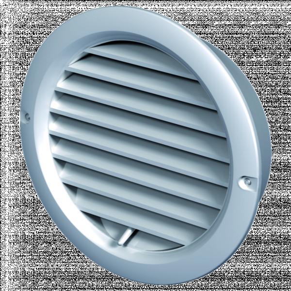 Решетка кръг PVC MV 125 BVRD