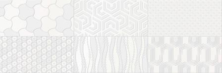 Декор Camaleonte Mix Blanco 20x60