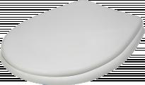 Капак пластмасов, бял