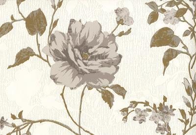 Тапет P. беж цветя дуплекс промо