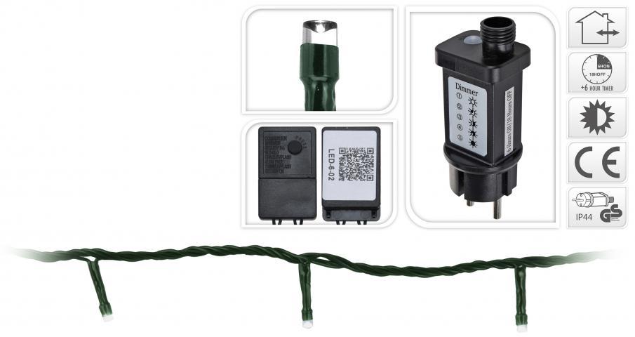 Светлинна верига OUT 80 LED многоцветна 2