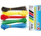 Комплект кабелни превръзки цветни