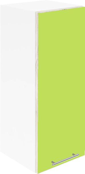 Крафт G1 горен с една врата 30см, зелен гланц