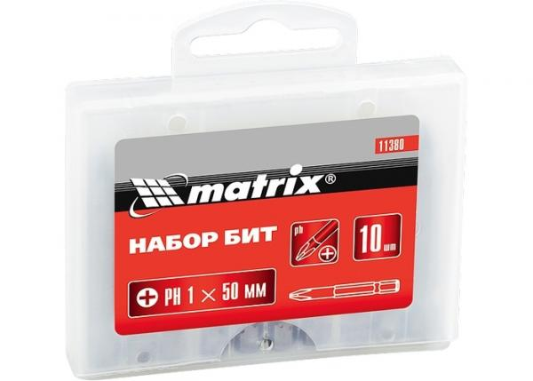 Комплект битове PH1х50мм MTX 10 бр.