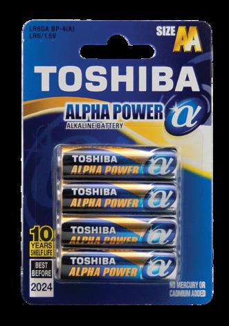 Батерии Toshiba ALPHA LR06x4