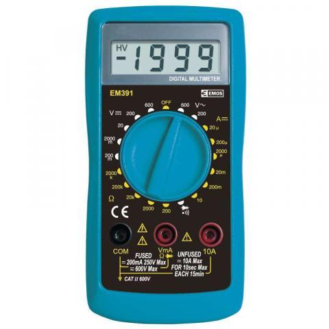 Мултиметър EМ391 EMOS 600V