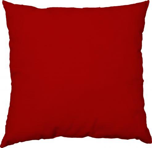 Деко възглавница 45х45 см червена