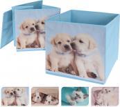 Кутия за съхранение 26x26x26 см