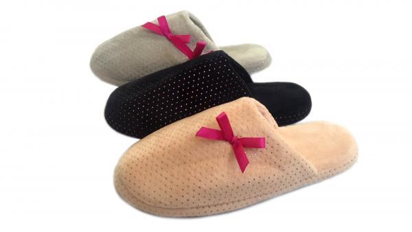 Домашни чехли дамски Black/Grey/Pink 36-41