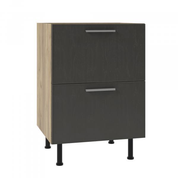 Долен шкаф с две чекмеджета SKY LOFT 60см