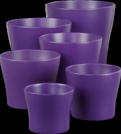 Кашпа Deep Purple 13 см