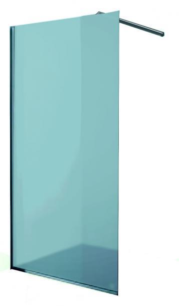 Стационарен параван матирано стъкло 90см