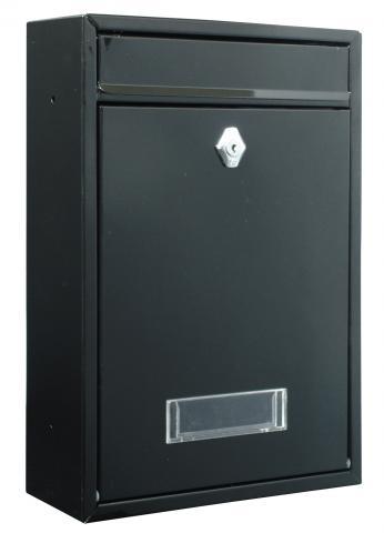 Пощенска кутия BERMEO черна