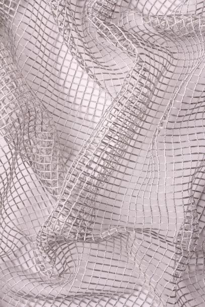 Перде PLATE, 295 см, сребристо