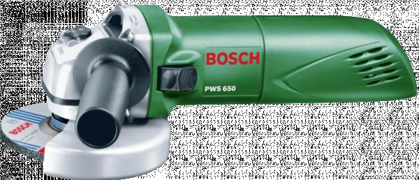 BOSCH Ъглошлайф PWS 650 +