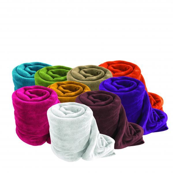 Одеяло 150х200 см лилаво