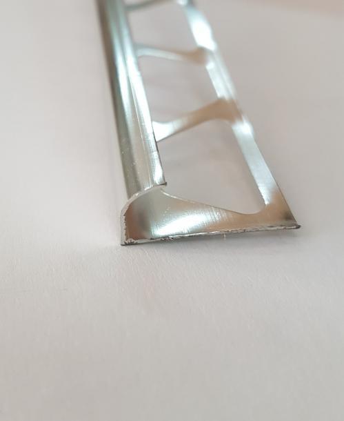 Лайсна ъглова 8мм Сребро полиран