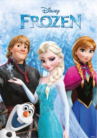Постер за стена Frozen 59х84 см