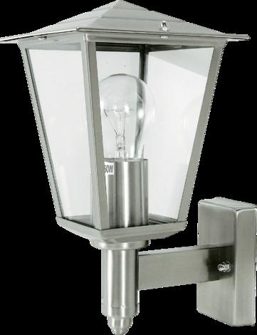 Външна лампа Kiel инокс
