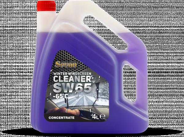 Зимна течност за чистачки SW65 -65°C 4л