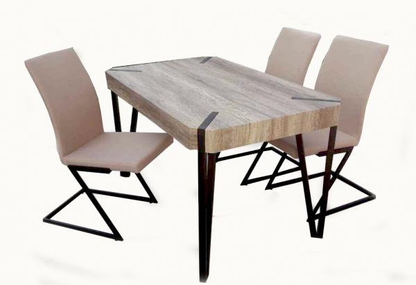 Комплект Wooden маса + 4 стола К275