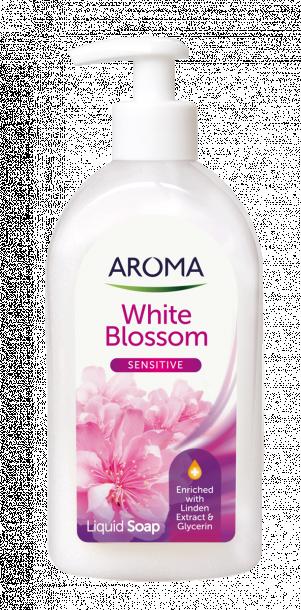 Течен сапун Aroma White Blossom 500 мл