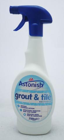 Спрей Astonish за почистване на плочки 750 мл