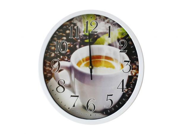 Часовник Кафе ф30см.