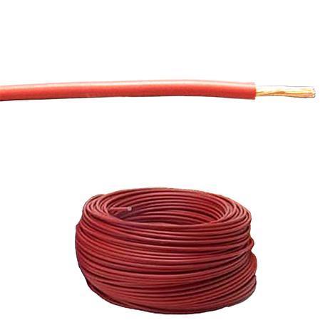 Кабел H07V-K  1.50 червен 10 м руло