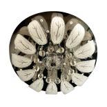 Плафониера Orhid с кристали 5хG9