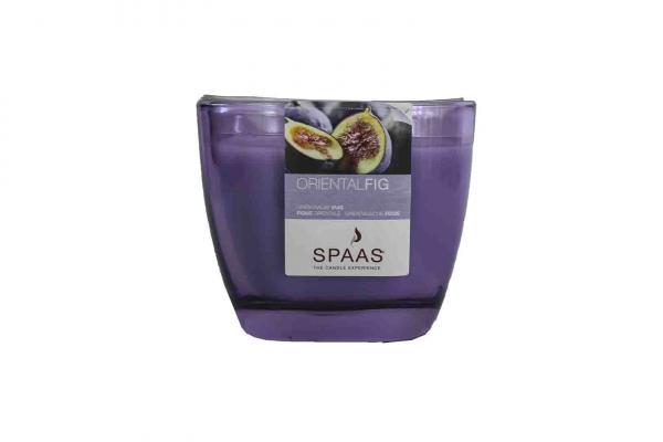 Ароматна свещ в чаша Виолетов / Ориент