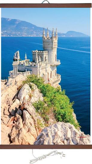 Картина с ИЧ-нагревател IRT Морски замък