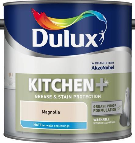 Интериорна боя DuluxMat за кухни магнолия 2.5л
