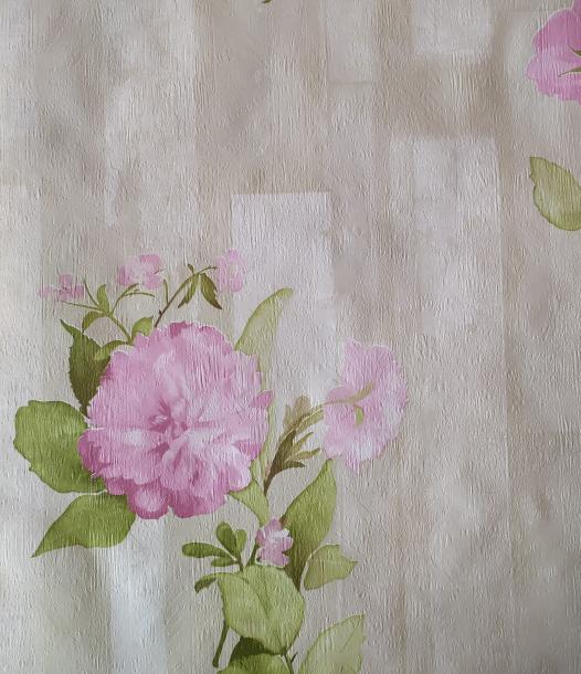 Тапет дуплекс Акварелно цвете лила