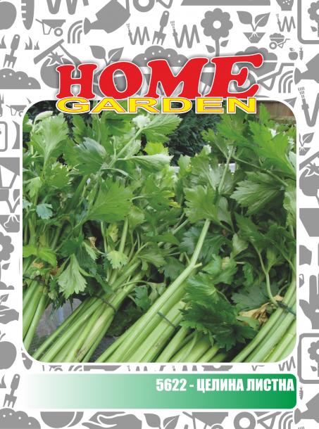 Семена за зеленчуци HomeGarden ЦЕЛИНА ЛИСТНА