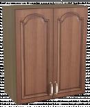 "Горен шкаф с две врати ""Орех"", В 60см"